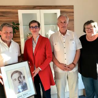 Vorstand der Arno Esch Stiftung e.V. auf der Mitgliederversammlung 2018